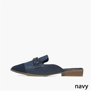 Giày sục nữ mũi vuông Thái Lan siêu êm chân tung tăng dạo phố thời trang - sản phẩm nhập khẩu