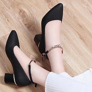 Giày cao gót vuông 5cm G78