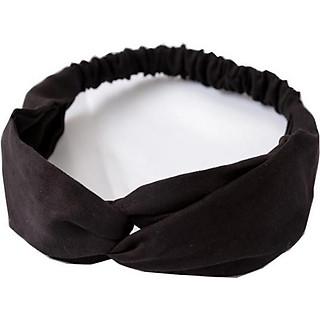 Băng đô turban giữ tóc bản to chất liệu cao cấp cho bạn gái TB07