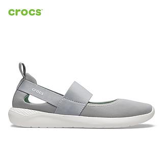 Giày Lười Nữ Crocs LiteRide Mary Jane 206082