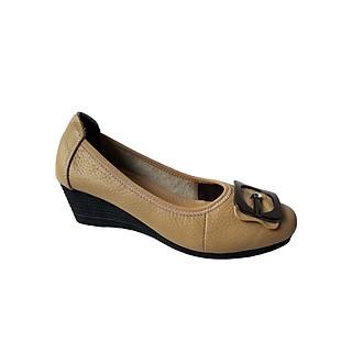 Giày búp bê nữ da bò thời trang cao cấp HKT19