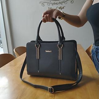 Túi xách nữ Mirror Towers thời trang màu thanh lịch sang trọng (Màu đen)