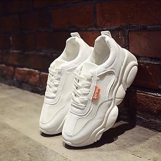 Giày nữ thể thao sneaker phối lưới đế gấu siêu xinh TT2