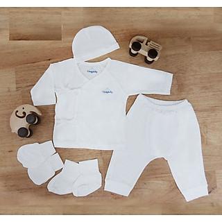 Set 5 món gồm quần, áo, mũ, tất, găng tay Comfybaby