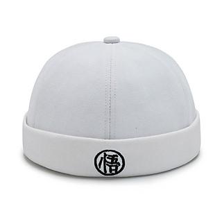 Mũ Miki chữ tàu - Mũ tròn không vành mẫu mới