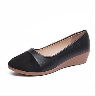 Giày nữ đế xuồng 3p da mềm êm chân OD7