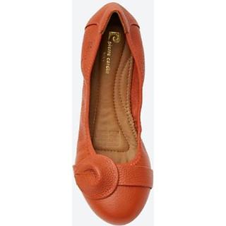 Giày búp bê nữ đế bằng Pierre Cardin PCWFWSC020ORN màu cam