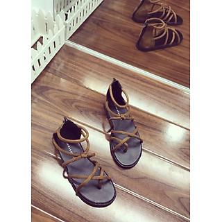 Sandal nhiều dây xỏ ngón - D80