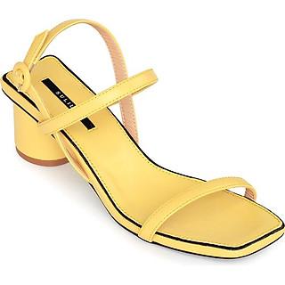 Giày Sandal Gót Trụ 5 phân Sulily SGT1-II20 màu vàng