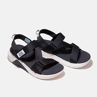 Giày Shondo Sandals F7 Racing F7R0010 đế trắng phối đen quai đen