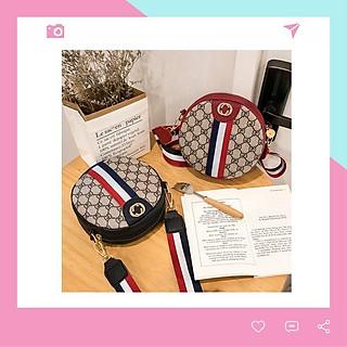 Túi xách nữ đeo chéo đẹp tròn xinh Tabala TX13