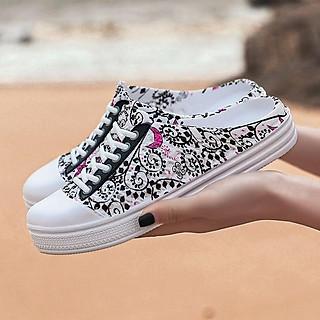 Giày nhựa kiểu dáng thể thao khoét gót cho nữ - MH91