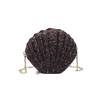 Túi xách nữ, túi đeo chéo nữ hình vỏ sò kiểu dáng thời trang siêu xinh