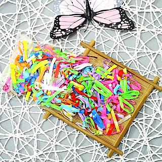 Túi 50Gr chun buộc tóc nhiều màu ngẫu nhiên ✓Dây thun ✓Dày đẹp