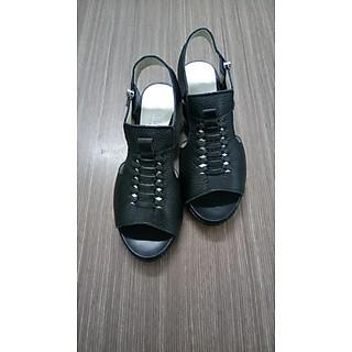 sandal nữ khóa kéo zip 5 phân Gia Khánh GK0132