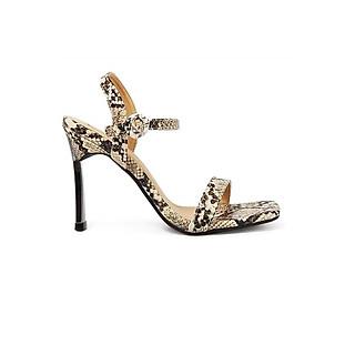 Giày Sandal Gót Nhọn Da Rắn Sulily SG1-IV20XAM màu xám
