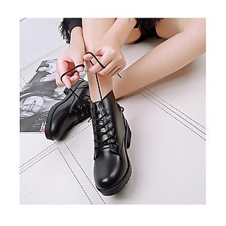 Giày boot nữ phong cách ulzzang đế cao 2cm B148