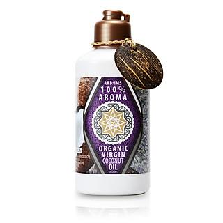 Dầu Dừa Hữu Cơ Tự Nhiên Aroma Organic Virgin Coconut Body Oil - Hương Lavender