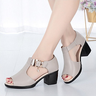 Giày Sandal nữ cao gót Phong Cách Hàn Quốc SDAN115