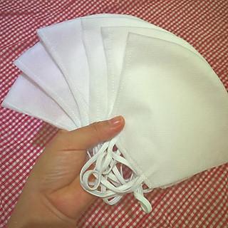 Khẩu trang vải không dệt 4 lớp , tái sử dụng được nhiều lần