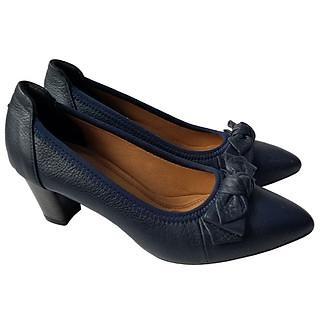 Giày Cao Gót Nữ Công Sở Da Bò BIGGBEN GCG7
