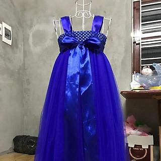 Đầm thiết kế ️️ Đầm thiết kế cho bé gái xanh coban