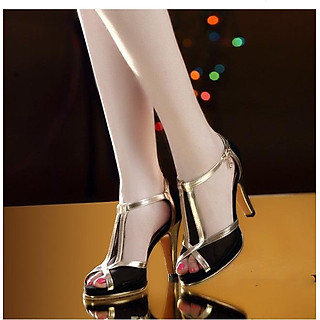 Giày cao gót hở mũi TRENDY DS045