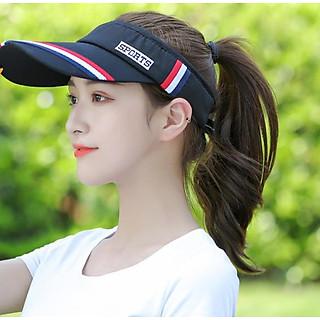 Nón kết thể thao cho nữ, mũ nón thể thao nửa đầu chơi golf- tennis cao cấp chống uv