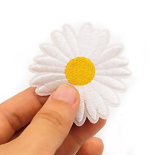 Hoa cúc Daisy - Patch ủi sticker vải