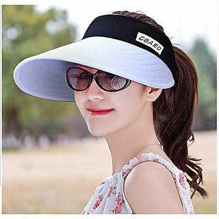 Nón chống nắng rộng vành phong cách Hàn, mũ rộng vành nửa đầu cao cấp