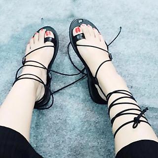 Giày sandal  Dây Chéo Xỏ Ngón TAS42