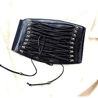 thắt lưng nữ bản lớn:đai 20cm,mẫu dây buộc(DLVyG0)
