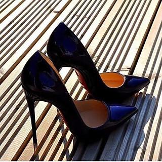 Giày cao Gót 11P - Gót Đũa - Sang Chảnh Quý Phải Full size 34-40