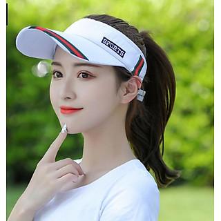 Mũ lưỡi trai nửa đầu thể thao phong cách Hàn, mũ nón golf- tennis