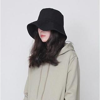 Mũ bucket Tai Bèo trơn Vải Cotton Thời Trang Cho Nam Và Nữ