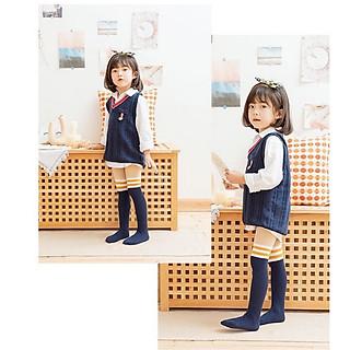 Quần tất len giả bốt cho bé gái phong cách Hàn Quốc cho bé từ 3 - 12 tuôi