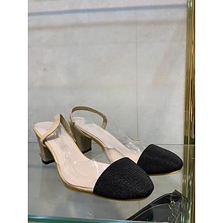 Giày cao gót chất liệu dạ