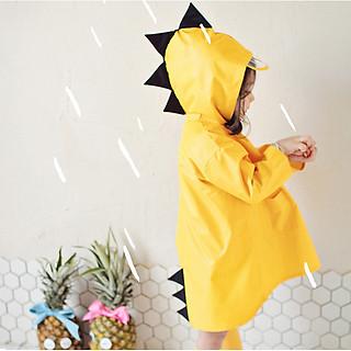 Áo mưa khủng long cho bé