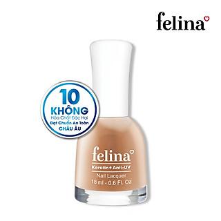 Sơn móng tay Felina 18ml CS215 Cam Nude