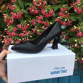[ Shop giày somina ] Giày VIP gót trụ thon 7cm MT111