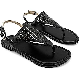 Giày Sandal Nữ Quai Kẹp PABNO PN13006, Chất Da Mềm Mại, Giày Thời Trang Công Sở Cá Tính, Năng Động