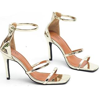 Sandal Pixie Mũi Vuông Quai Mảnh 7cm X432
