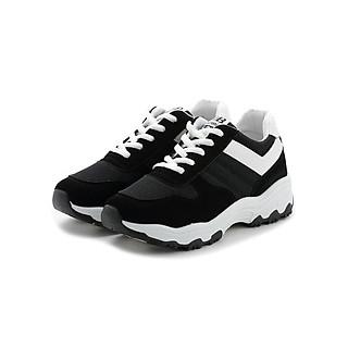 Giày thể thao nữ thời trang màu đen TT058