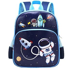 Balo bé trai in hình vũ trụ cho bé mẫu giáo 1-4 tuổi