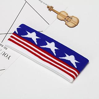 (Dọc) Băng đô Headband cờ Mỹ dọc băng đô BTS nhóm nhạc Hàn quốc thiết kế độc đáo