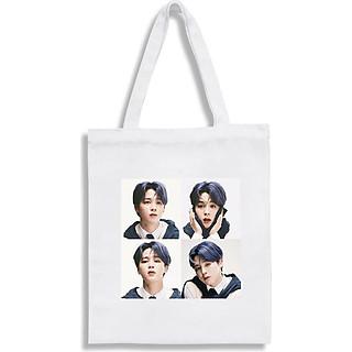 Túi tote BTS in hình JIMIN BTS túi to