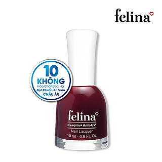 Sơn móng tay Felina 18ml CS381 Đỏ Đô