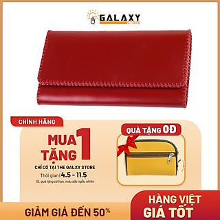 Ví Bóp Nữ Da Bò Thật Cầm Tay Clutch Handmade Cao Cấp Galaxy Store GVNUA06 - Hàng Chính Hãng (20x11 cm)