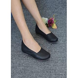 Giày búp bê đen prota kobe