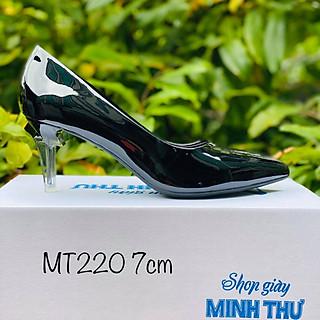 [ Shop giày somina ] Gót mika cách điệu 7cm MT220